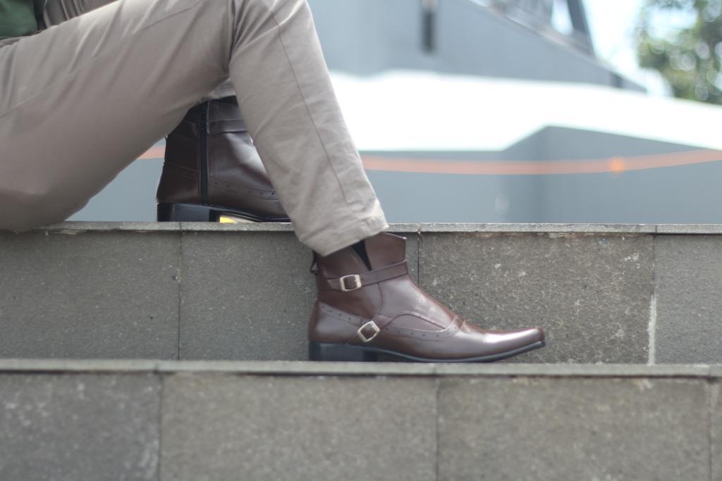 BRODO Sepatu Pantofel Pria -Sepatu Kulit Asli - sepatu formal pria - 5