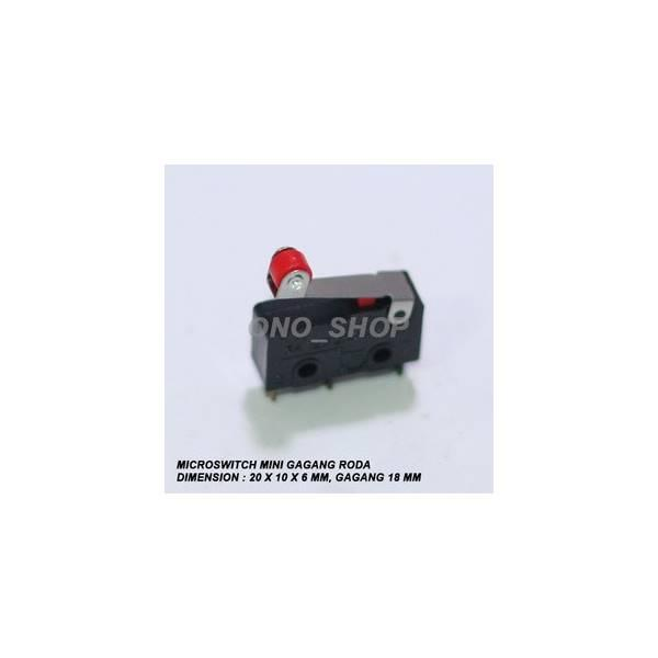 Microswitch Mini Gagang Roda PendekIDR4000. Rp 4.200