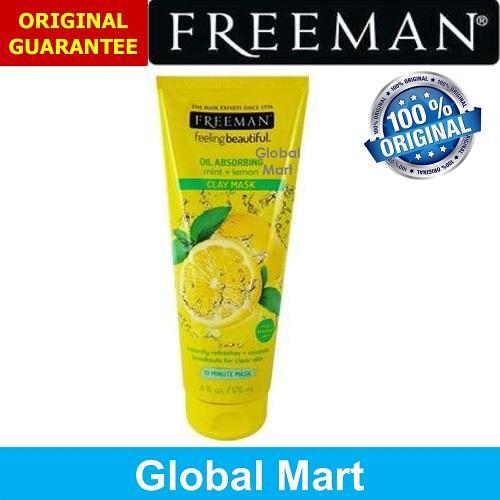 Freeman Mint + Lemon Oil Absorbing 175ml ORIGINAL & PENGIRIMAN CEPAT