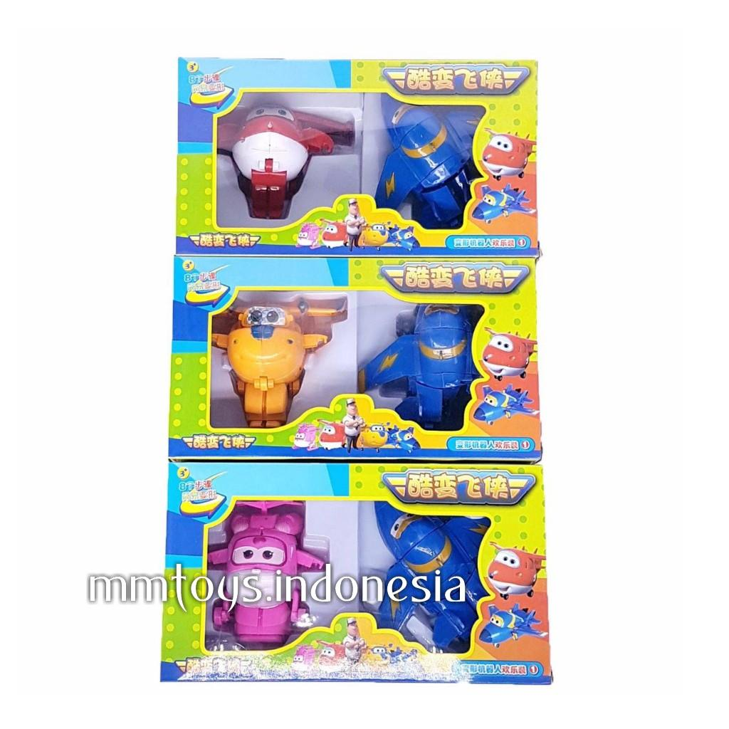 Buy Sell Cheapest Superwings 2in1 Set Best Quality Product Deals Figure Super Wings Isi 8 Pc Mainan Anak