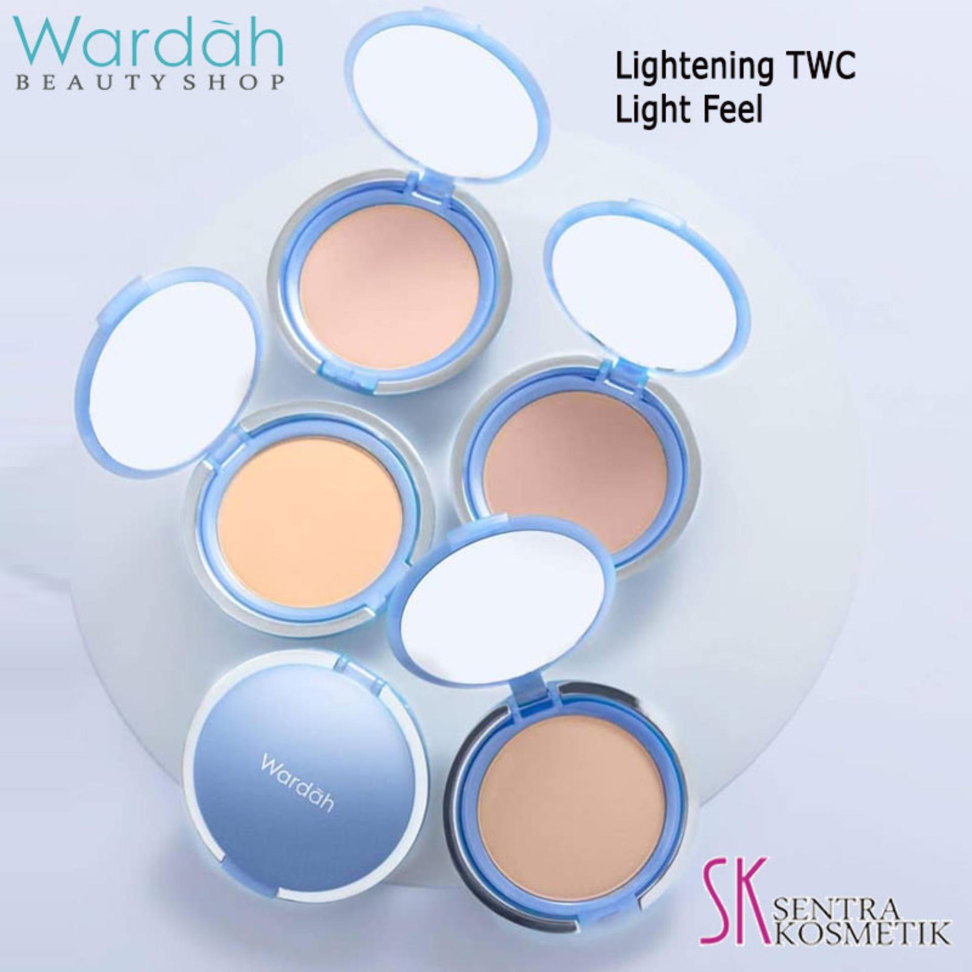Gambar Produk Rinci Wardah Lightening Two Way Cake Light Feel 02- Golden Beige Terkini