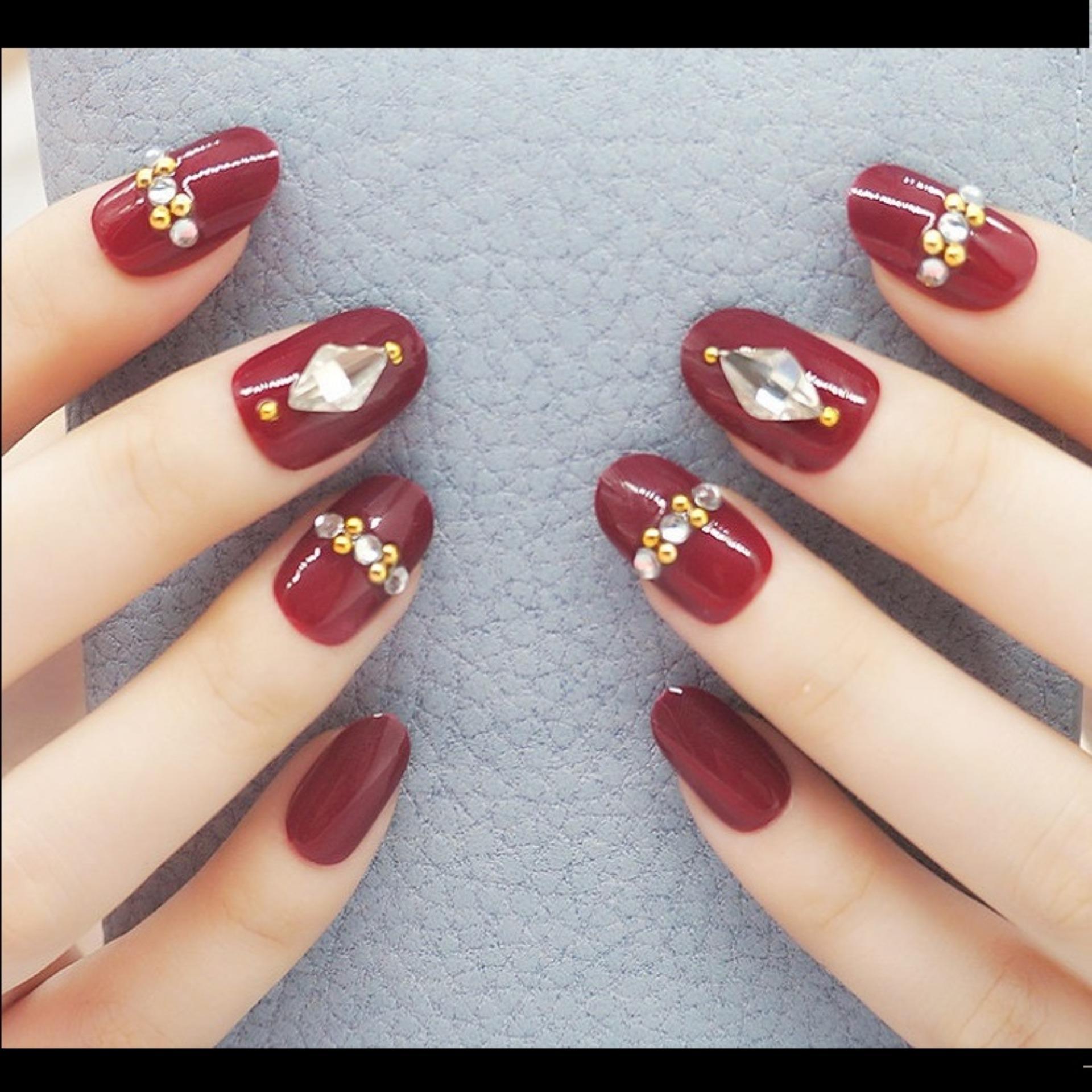 Fitur Jbs Nails Kuku Palsu 3d Fake Nail Art Wedding A29 Dan Harga A41 Aart A18