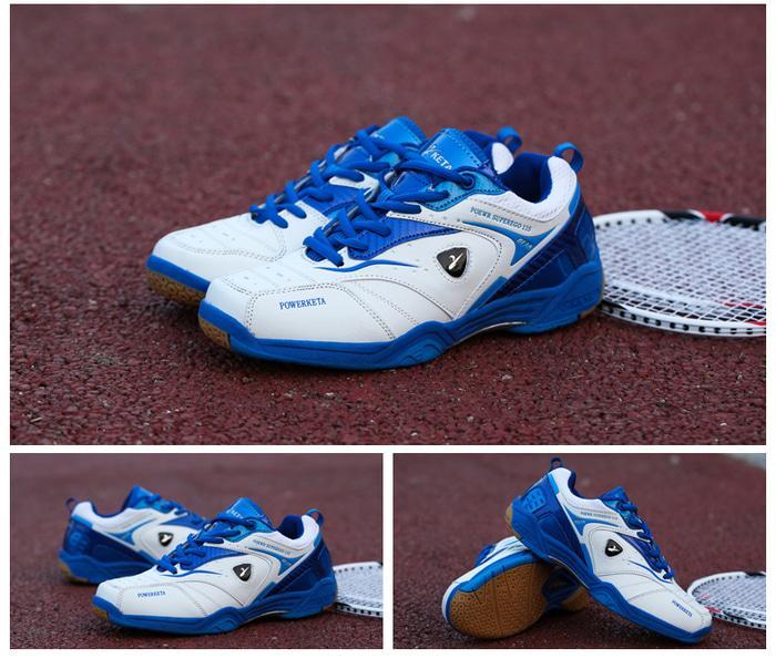 Baru..!! Sepatu Badminton/Bulutangkis/Tennis KETA 115 White Blue - kZIEW4