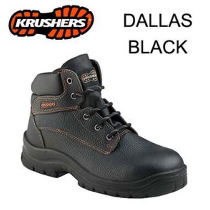 SAFETY SHOES KRUSHER DALLAS BLACK ORI  FWANITA 001XOIX