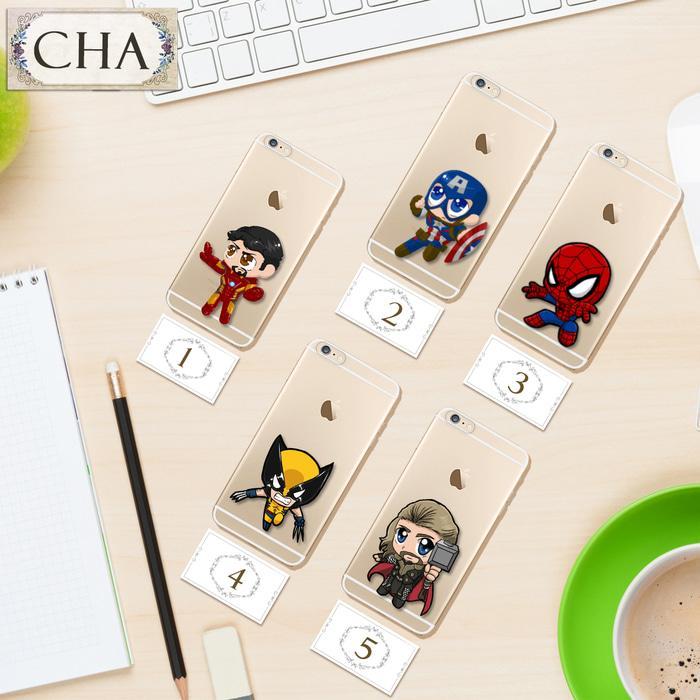 PROMO TERBATAS!!! Casing Chibi Avenger Thor Case Hp Handphone Iphone Samsung Sony LG A20 Terbaru