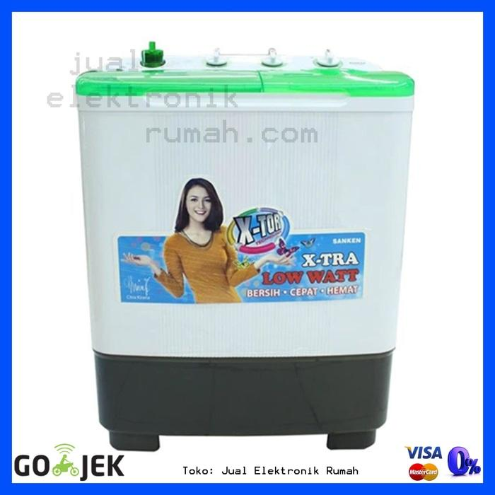 ORIGINAL - Mesin Cuci 2 Tabung Sanken TW8700 Kualitas Terbaik