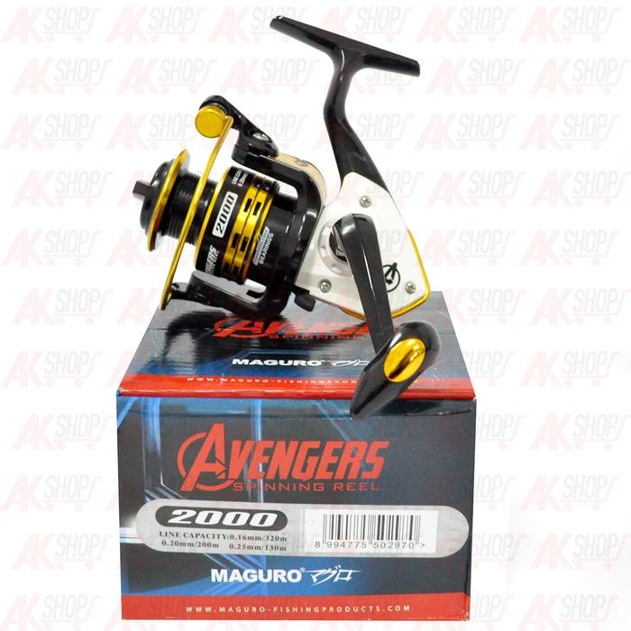 Reel Maguro Avengers 2000 (Fishing Reel) - eBkpAY