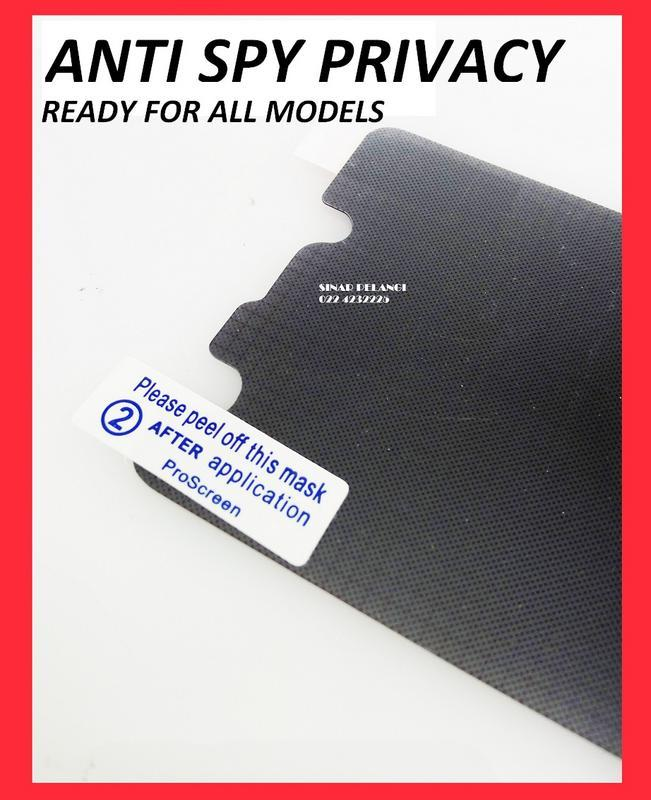 ANTI GORES SPY GELAP PRIVACY SCREEN PROTECTOR SAMSUNG S5330 WAVE 2 PROSCREEN 723