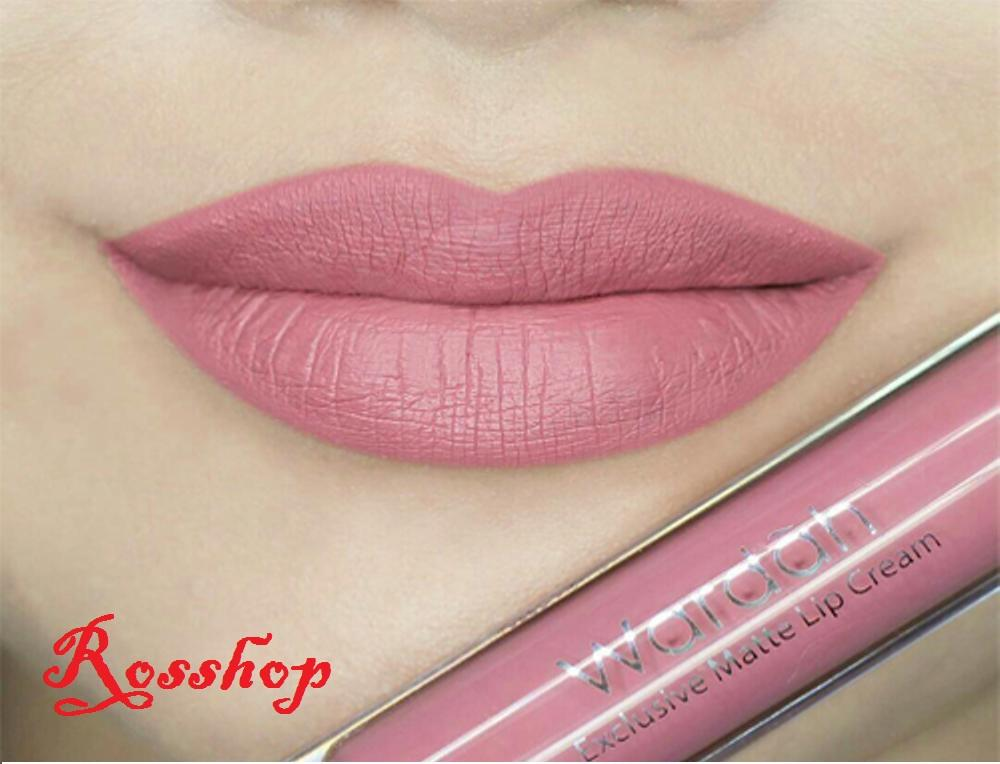 Wardah Exclusive Matte Lip Cream - 10 Berry Pretty