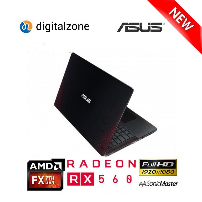 ASUS X550IK - AMD FX 9830P - RAM 8GB - 1TB HDD - RADEON RX560 4GB - W10 - 15.6