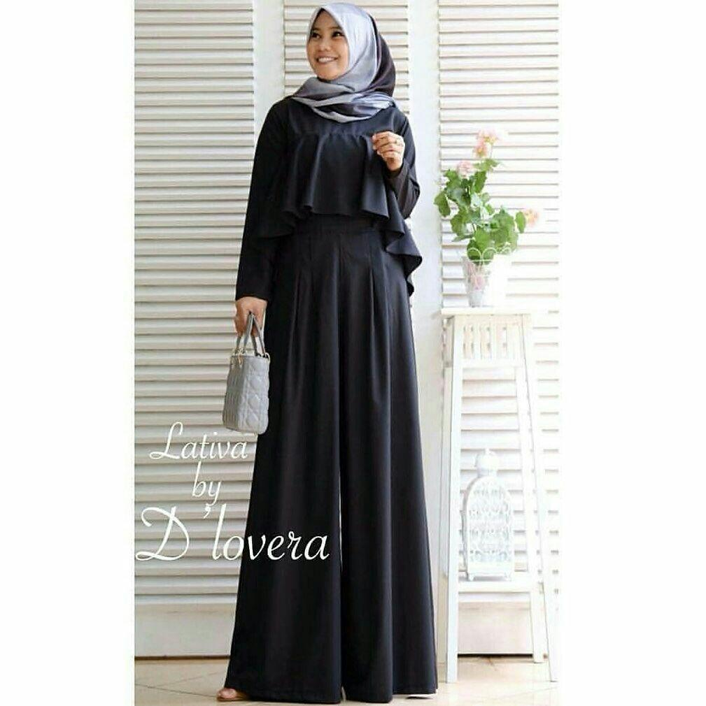 FJCO JS Lativa / Maxi Dress / Fashion wanita / Fashion Muslimah / Hijab Style