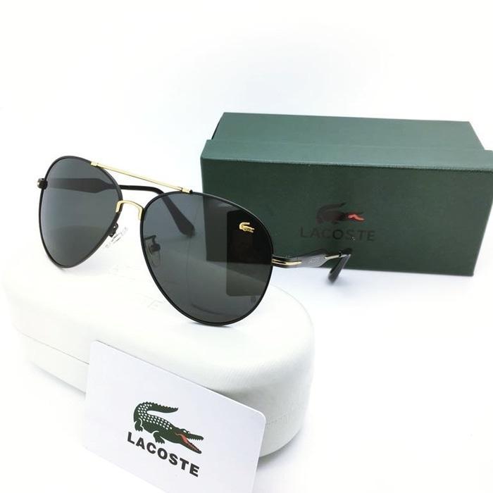 Kacamata / Sunglass Pria Lacoste Am-7915 Fullset + Cairan Pembersih