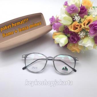 Price Checker free lensa minus - frame kacamata baca pria wanita wolf 1023  pencari harga - Hanya Rp182.372 73972190b7