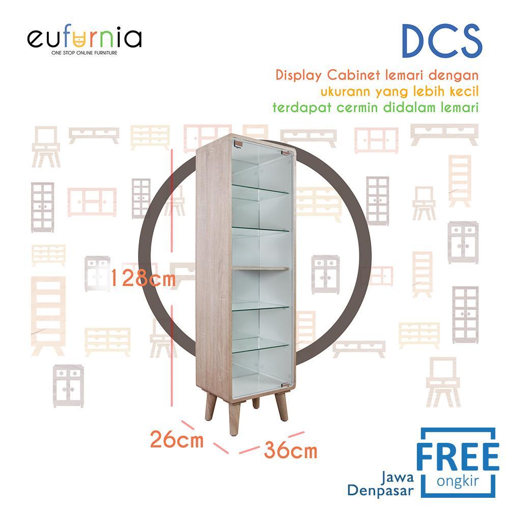 Eufurnia Olympic Curla Series Display Cabinet Small - Rak Pajangan Kecil