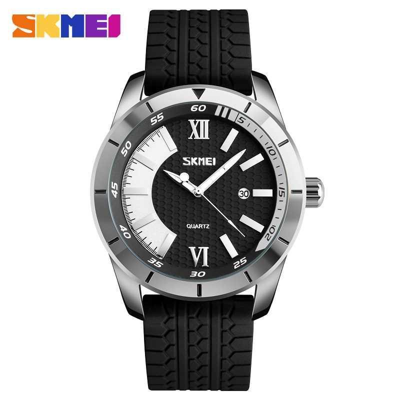 SKMEI Casual Men Analog Watch A9151 Anti Air Water Resistant WR 30m Jam Tangan Pria Tali