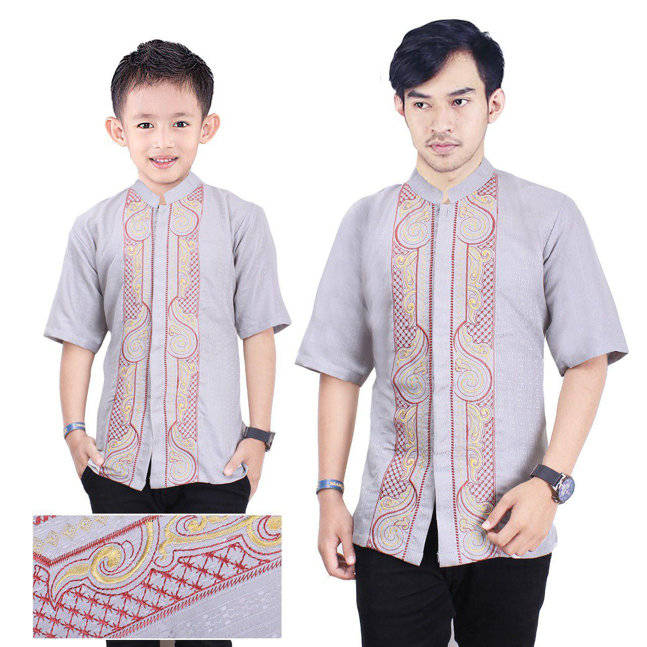 Couple atasan baju koko ayah dan anak 08,tannisa collection