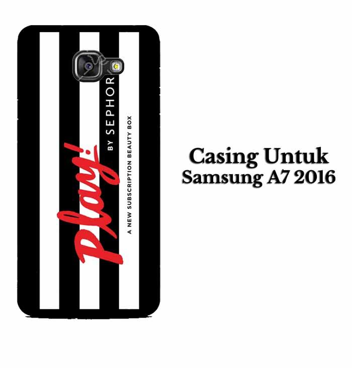 Casing SAMSUNG A7 2016 Play by Sephora Hardcase Custom Case Se7enstores