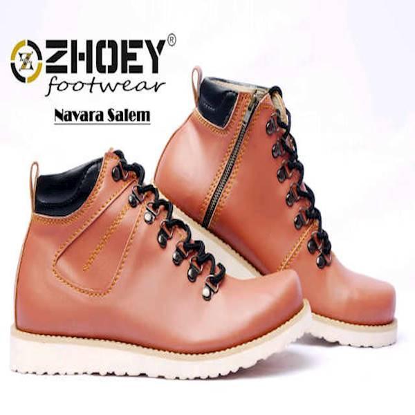 Sepatu Boots Murah Zhoey Navara Salem