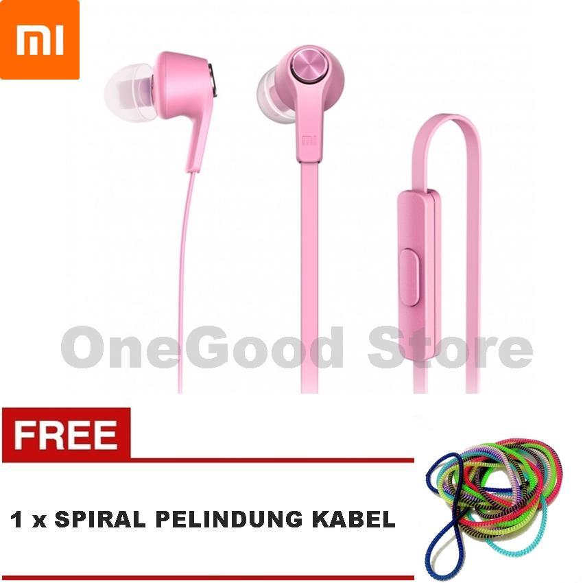 Xiaomi Piston 3 Youth Headset Generation Earphone Original + FREE Spiral Pelindung Kabel - Warna Random