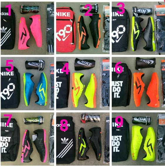 PAKET KOMPLIT Sepatu Futsal Specs Spyder