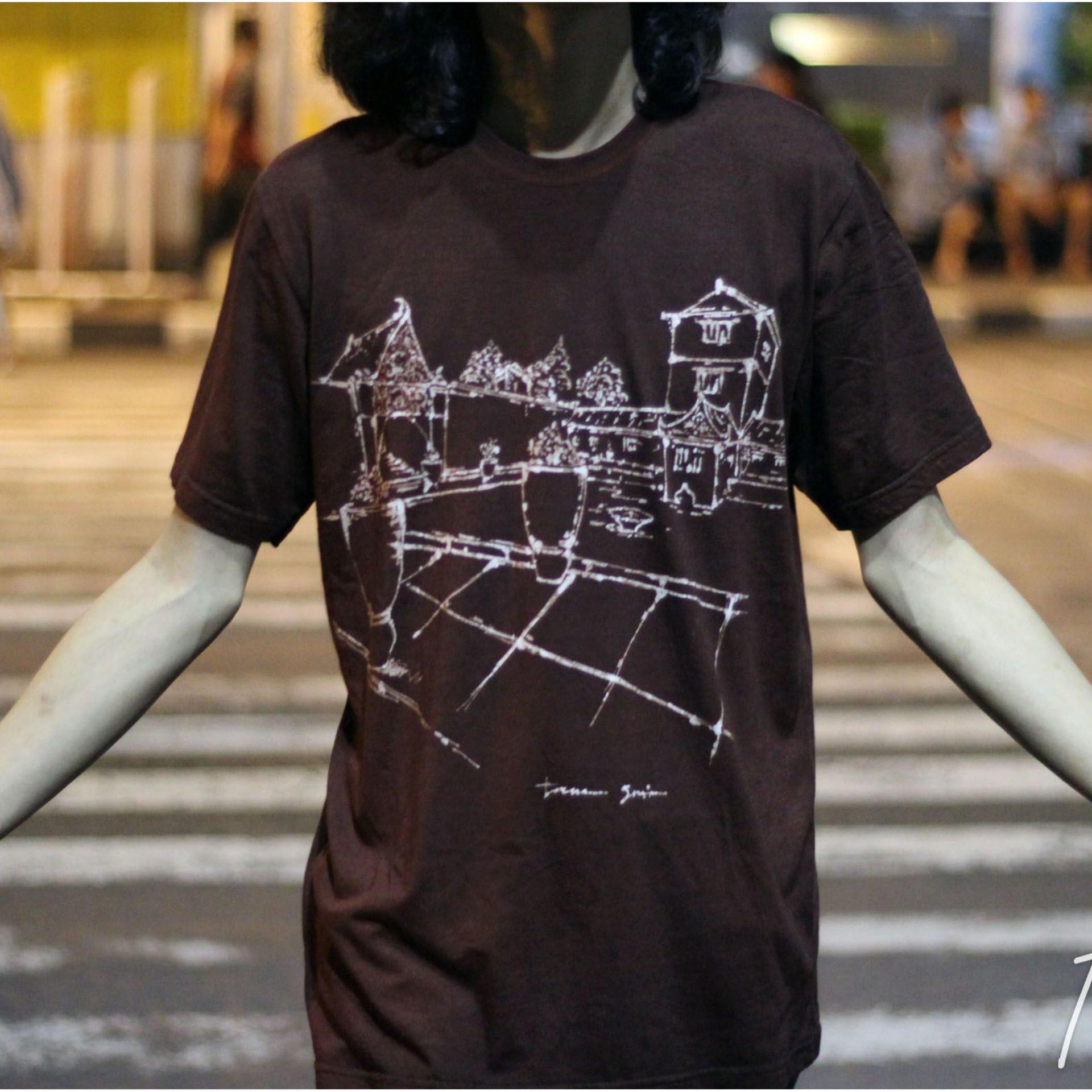 Kaos Batik Lukis Tangan Tamansari astowongso KBL-012