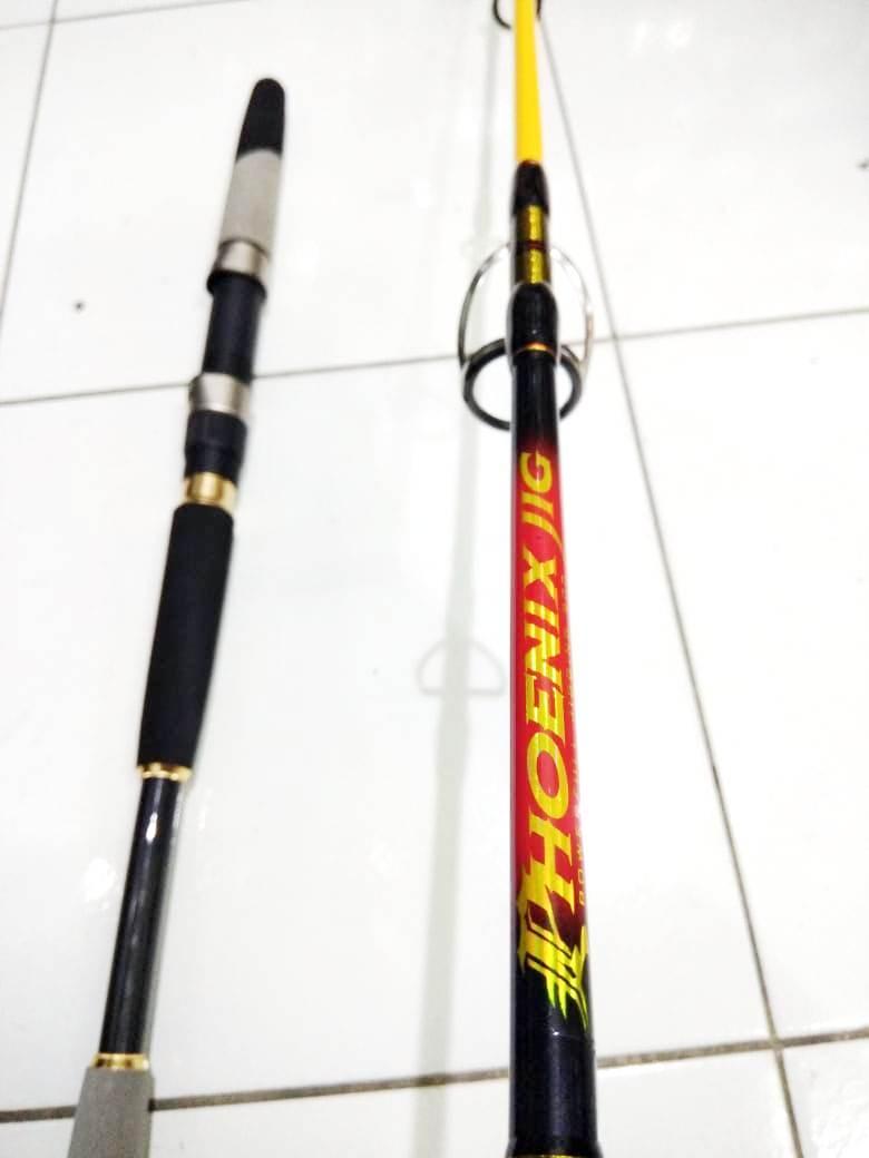 Joran Jigging Maguro Phoenix MPJ165M-2 165 Cm Line PE 4