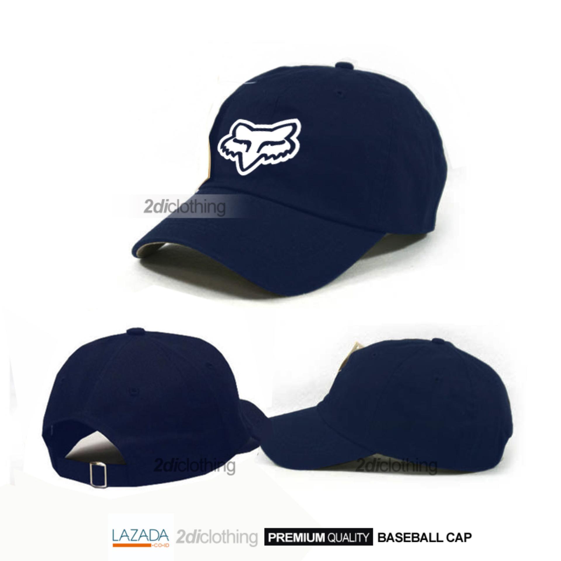 Topi baseball distro fox racing navy premium