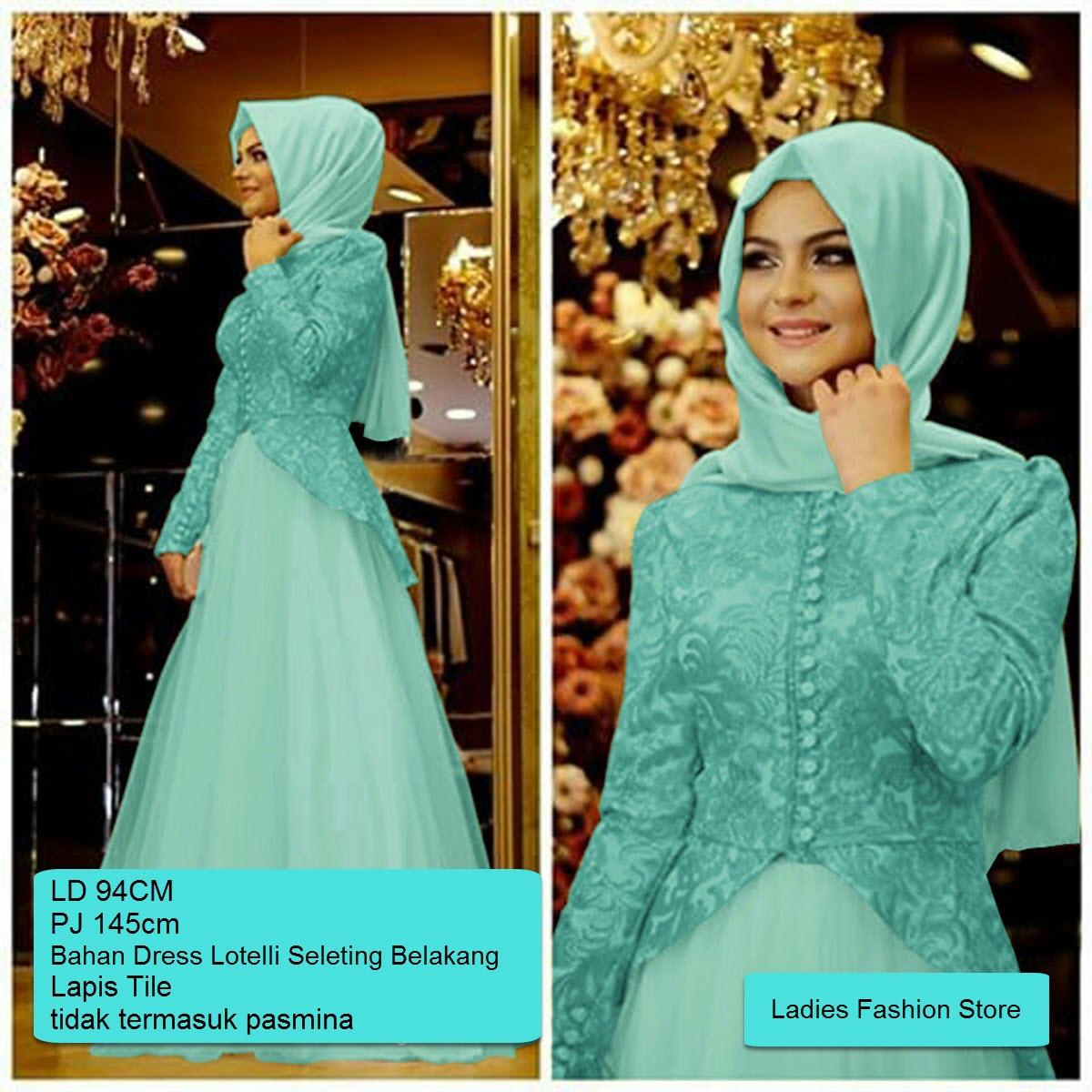 4de304eb3047dcbf63d512d1e5c694d5 Review List Harga Dress Muslim Pesta Pernikahan Teranyar tahun ini
