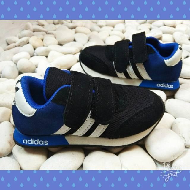 Sepatu Anak Sepatu Replika ADIDAS Biru-Hitam