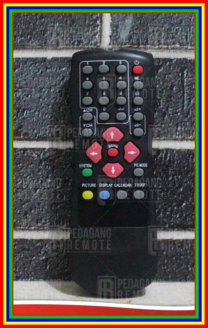 Remot Remote TV Akira Tabung KW Super