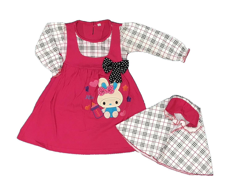 BAYIe - Baju Muslim Anak / Bayi Perempuan YUNISA / Gamis anak cewek umur 1 - 2 tahun
