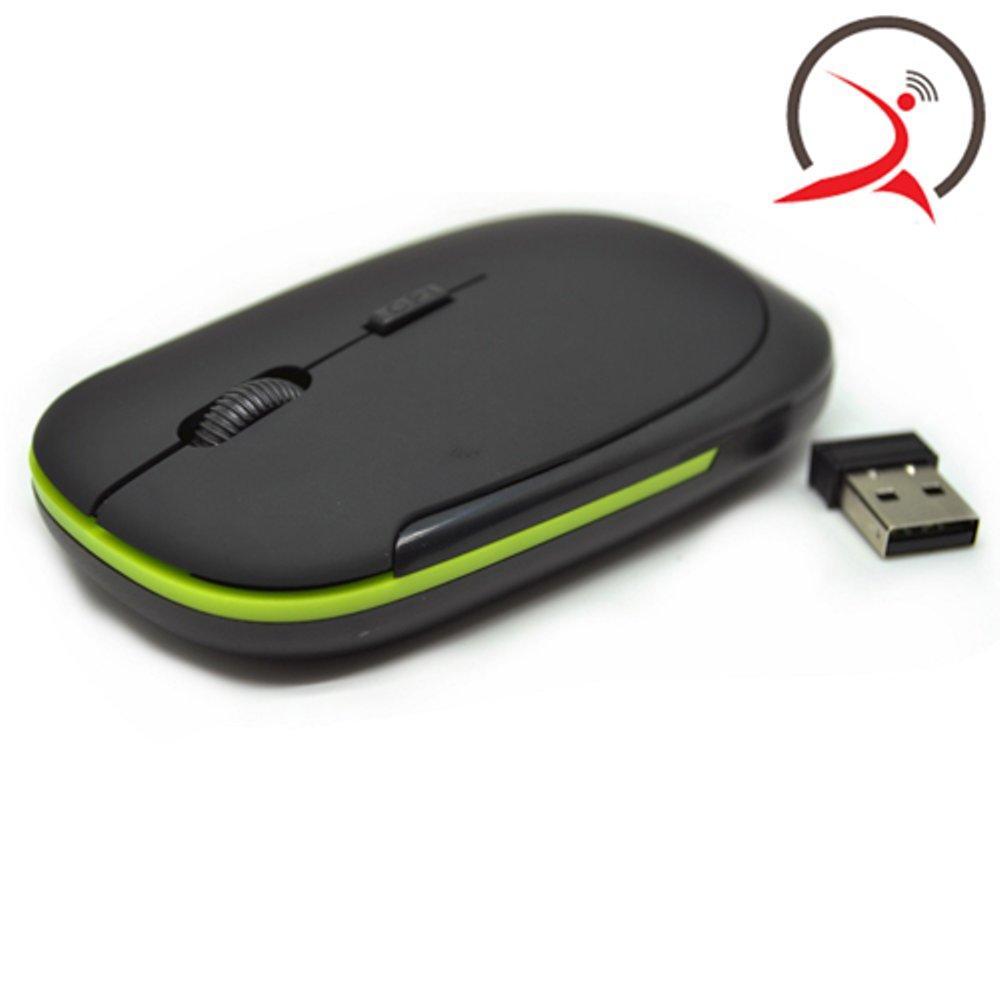 AUE Wireless Optical Mouse 2.4G (No Box) - Black di lapak Jakarta Technology jakartatechnology
