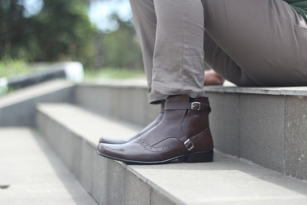 BRODO Sepatu Pantofel Pria -Sepatu Kulit Asli - sepatu formal pria - 3
