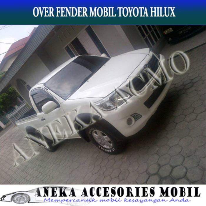 Over Fender Toyota Hilux Pick Up/Single Cabin Model Polos Elegant