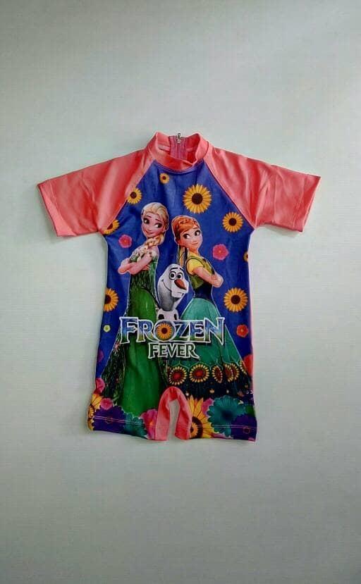 Baju Renang anak 2-3 Tahun Frozen Bunga - ajcfCE