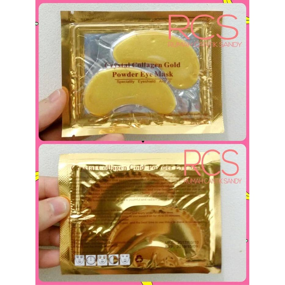 Buy Sell Cheapest 24 K Mata Best Quality Product Deals Masker Colagent Suka 178 Share Ke Emas Crystal Collagen Gold Eye