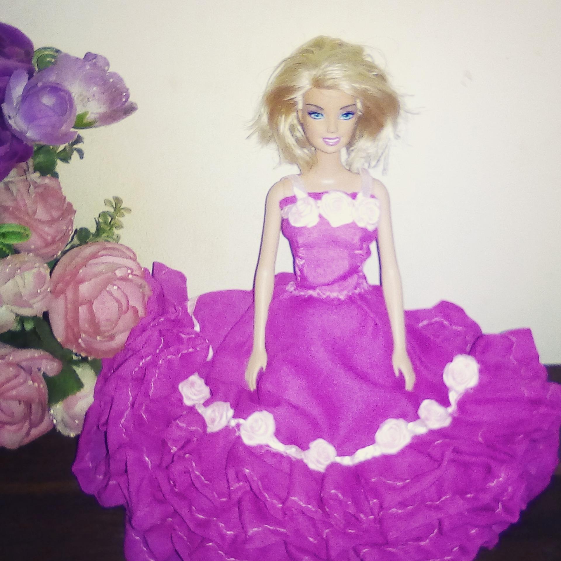 jual baju barbie princess buatan tangan