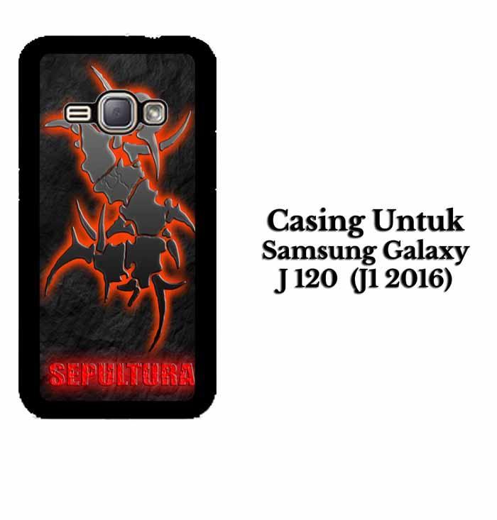 Casing SAMSUNG J1 2016 sepultura Hardcase Custom Case Se7enstores