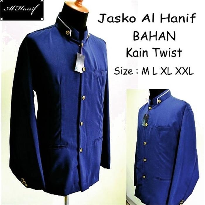 Jasko Jas Koko Al Hanif (Baju KoKo) Biru Dongker