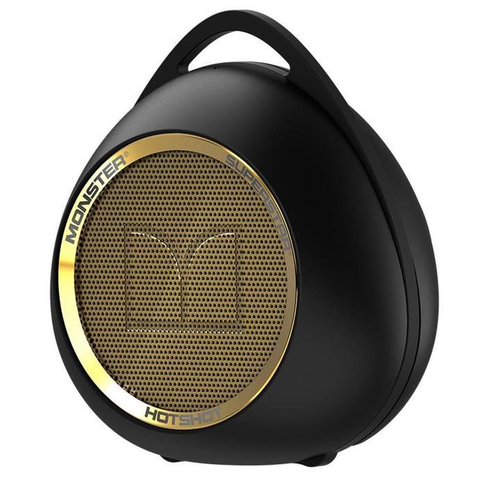 Monster Superstar Hotshot Bluetooth Speaker - Black Gold