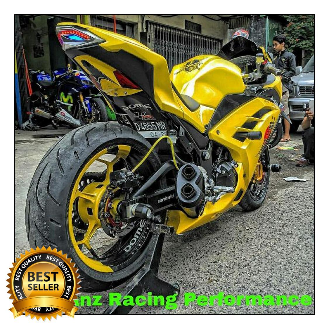 Kelebihan Knalpot Kawasaki Ninja 250fi R9 H2 Full System Terkini New Mugello Yamaha Byson 250 Fi