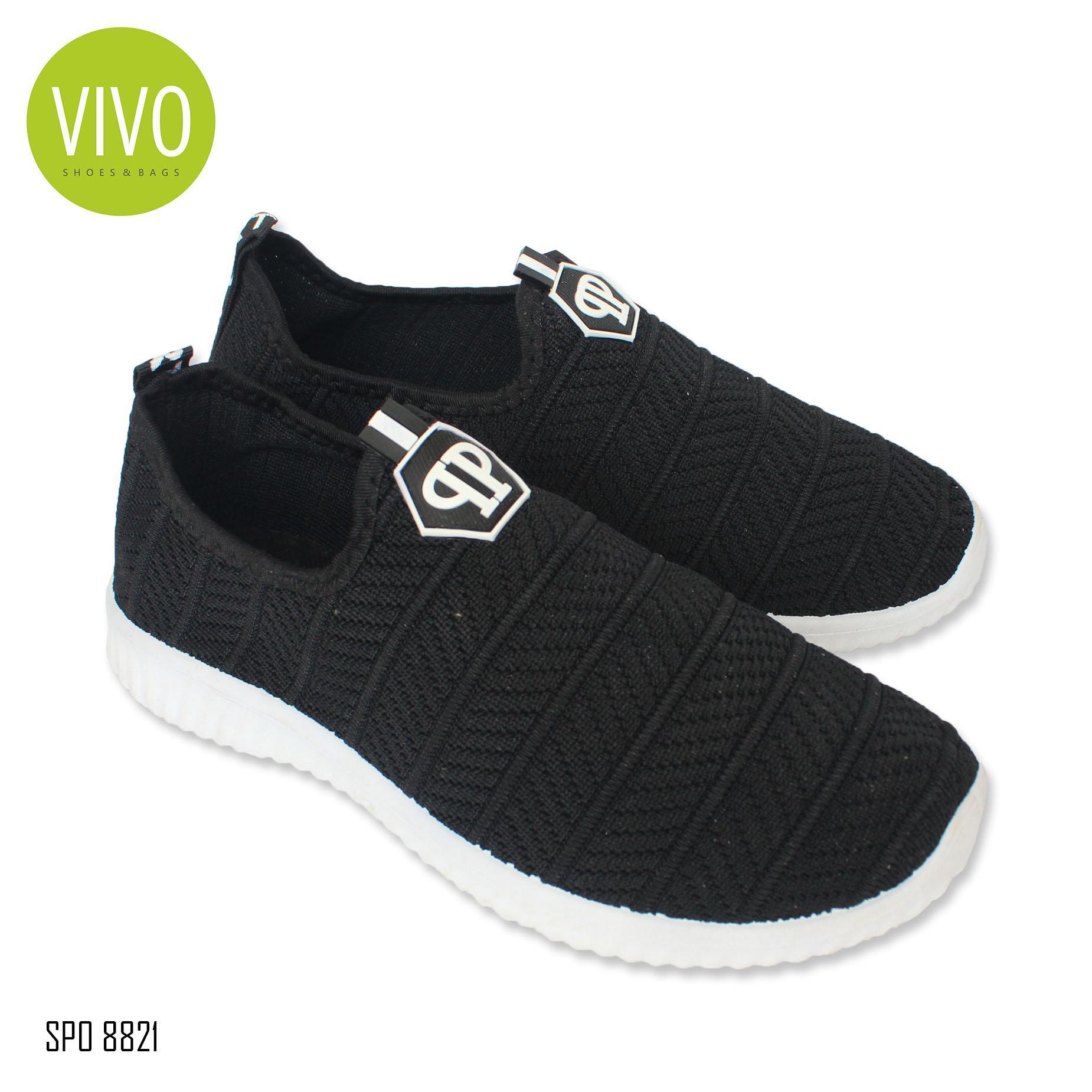 Vivo Fashion Sepatu Casual Pria/Sepatu Slip On Pria/Sepatu Sneakers Pria SP08821 -