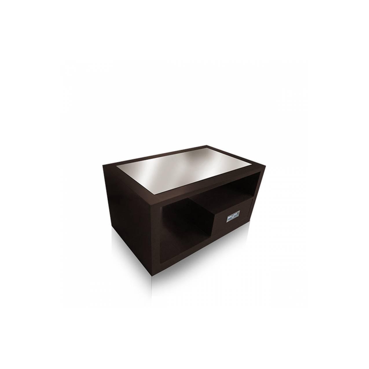 Meja Tamu Kotak Multiplek KP 207 - Cokelat