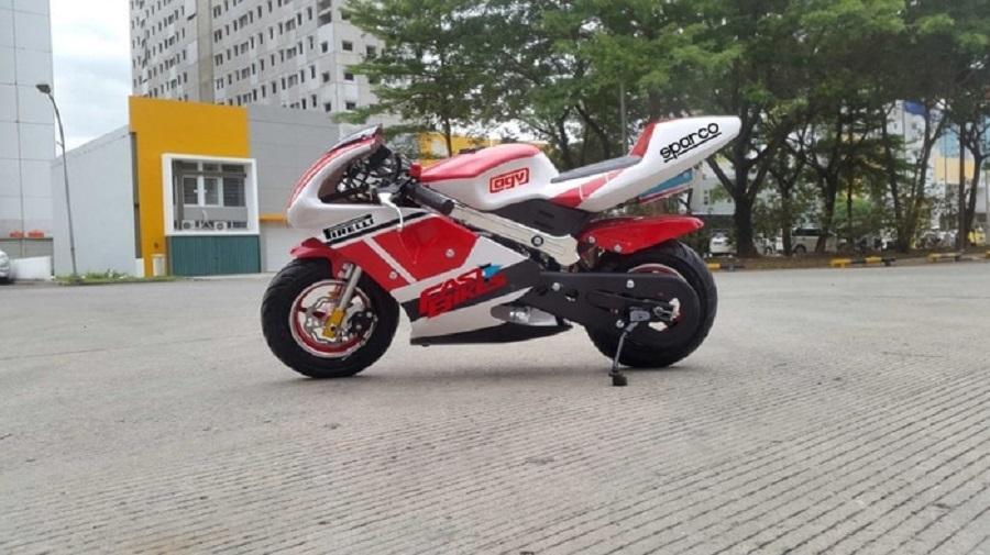 Mainan Anak Motor Mini GP Standrad STD 49 CC Mesin 2 Tak