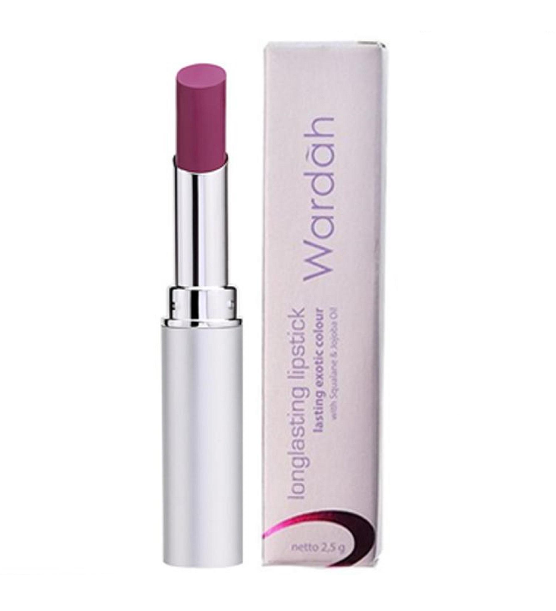 Wardah Long Lasting Lipstick No.05 Fuchsia Fever