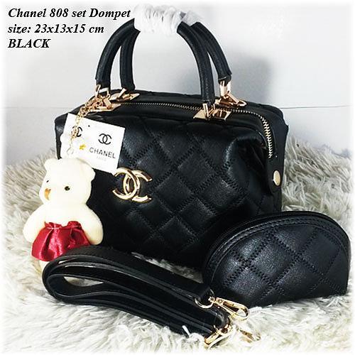 Chanel Doctor 808 Tas Wanita Tas Batam Selempang Import Korea Modern Fashion Murah Wanita Hand Bag