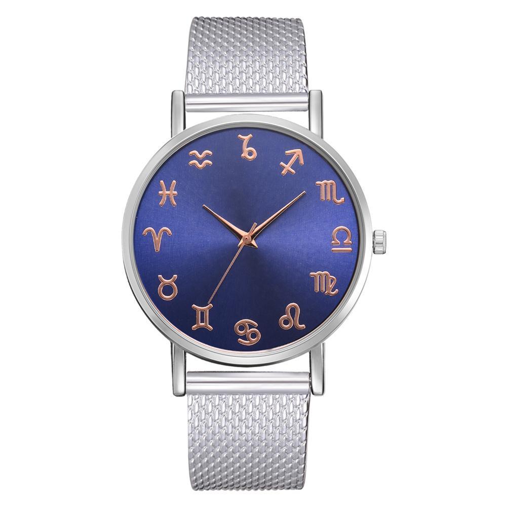 Fashion Men Business Wristwatch Bracelet Strap Quartz Watch Casual Decor Malaysia