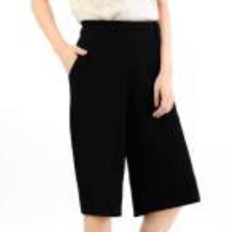 Celana Kulot Pendek DLSTR 2 Bahan Wafel/Crepe