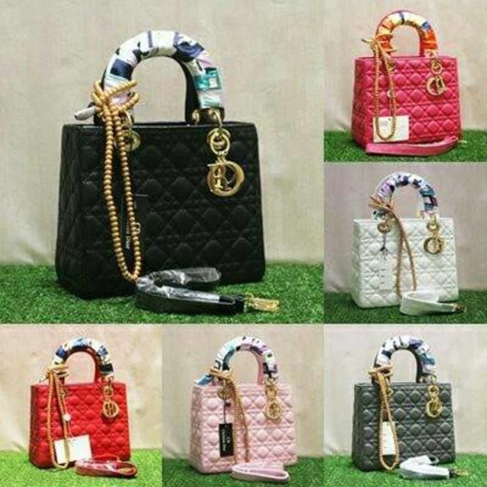 Sale  Dior Lady dove Pinkfanta besar uk.28 free syal   mutiara – Hitam –  p14Z2N 5b85dcc586