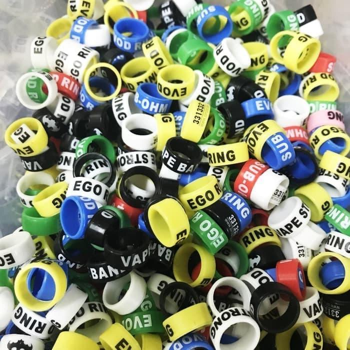 Best Seller [SMALL] Silicon Ring Vapeband (Random Color) Vape Band